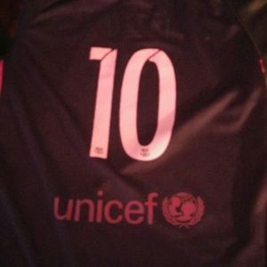 Boys Nike Soccer Jerzy -Messi- Barcelona